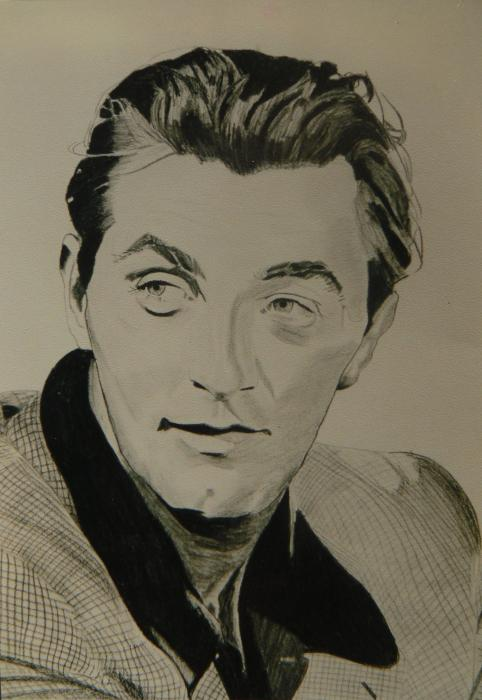Robert Mitchum by johnsy